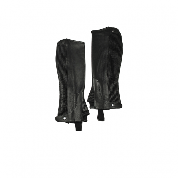 Equitare Club Half chaps leather