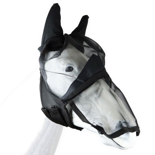 Equitare insect mask with nose flap