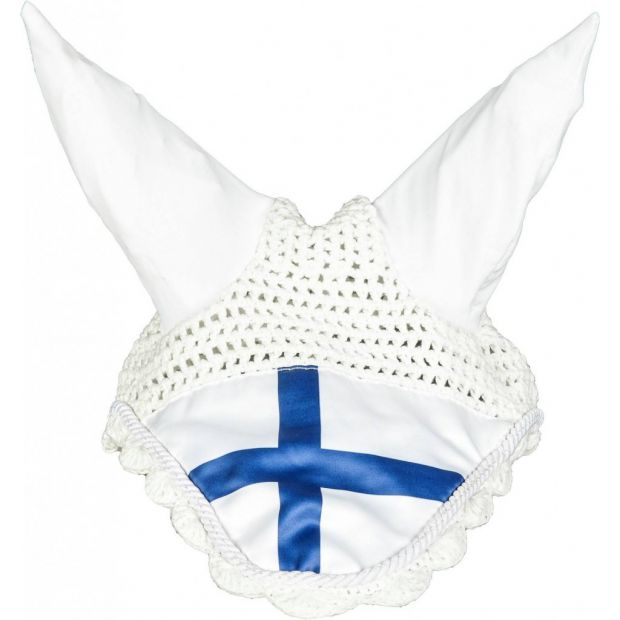 HKM Ear bonnet finnish flag