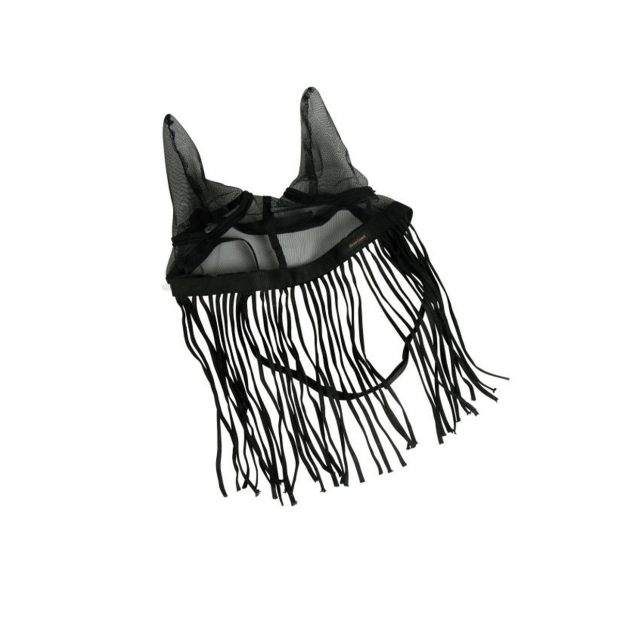 Fly net bonnet with fly fringe