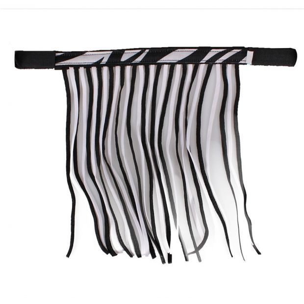QHP Zebra Anti-Fly Fringe Pony
