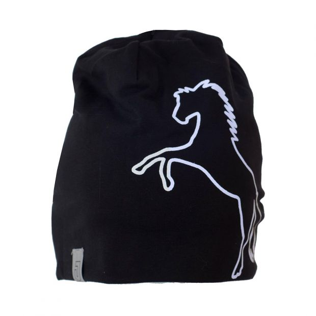 Jacson Winter hat with reflective horse