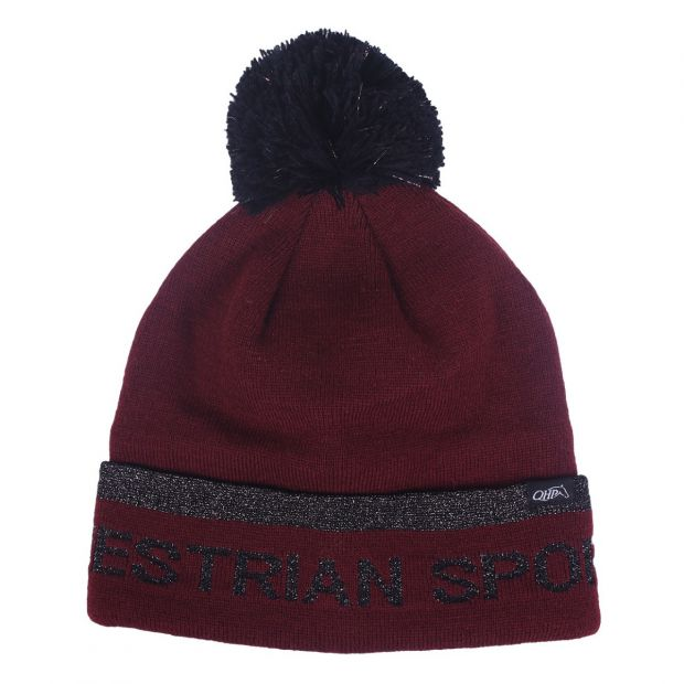 QHP Beanie Lisette knitted hat