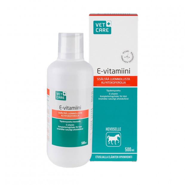 Vetcare E-vitamin 500 ml