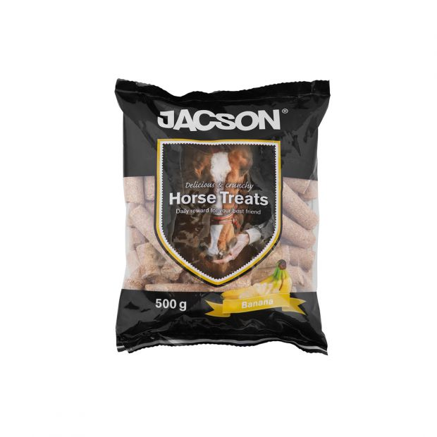 Jacson Horse treats banana 500 g