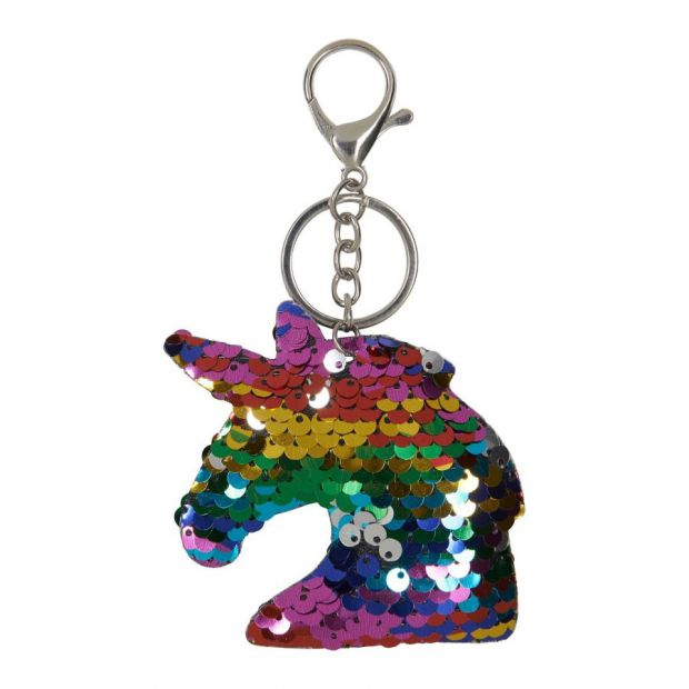 Equipage Sequin Keychain