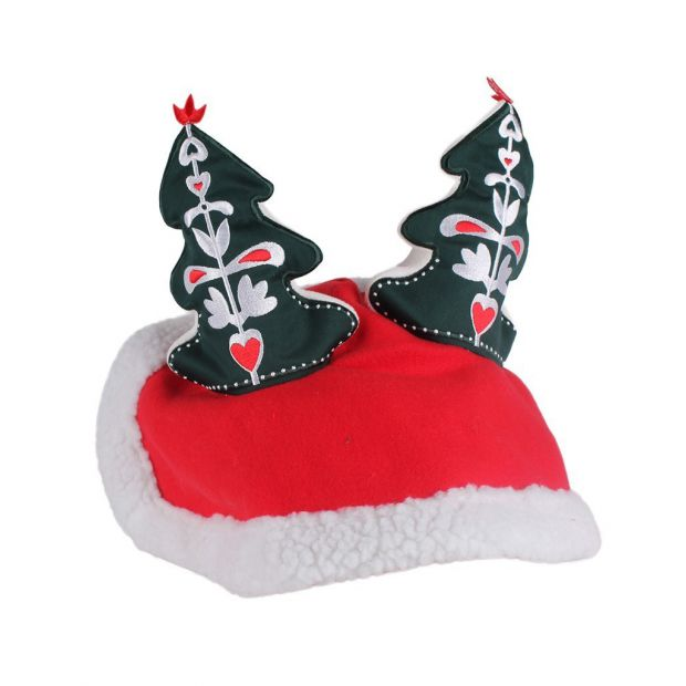 Christmas tree hat for horse
