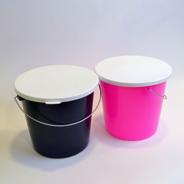 Gewa bucket 5 l with cover, pc
