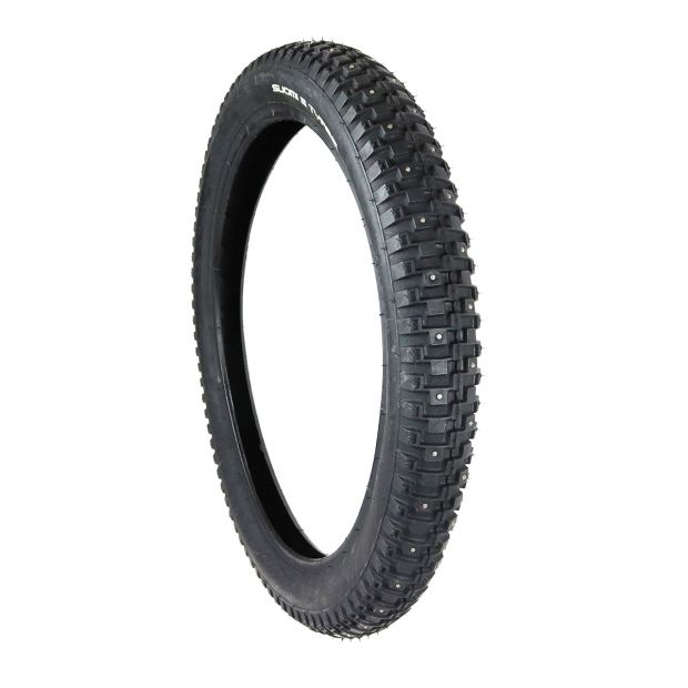 "Tyre with studs 17"" to cart wheel"