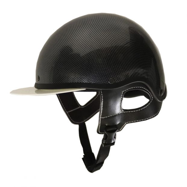 Pompano Trotting helmet Carbon Look, pc
